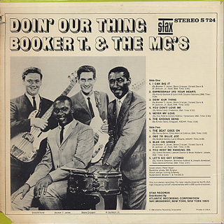 Booker T. & The MG's / Doin' Our Thing back