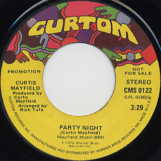 Curtis Mayfield / Party Night