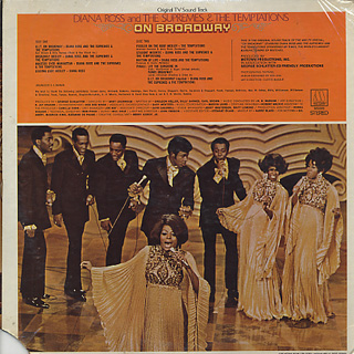 Diana Ross and The Supremes & The Temptations / On Broadway back