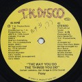 Foxy / The Way You Do The Things You Do c/w (Instrumental)