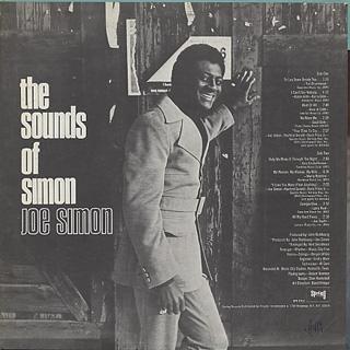 Joe Simon / The Sounds Of Simon back