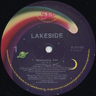 Lakeside / Relationship c/w (Instrumental) / Homewreker