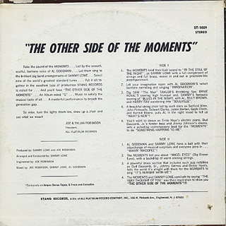 Moments / The Other Side Of The Moments back