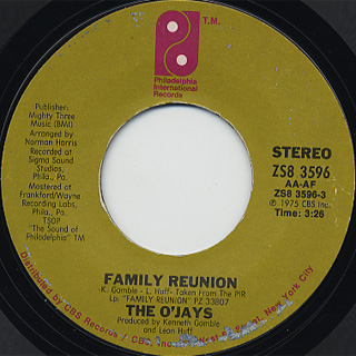 O'Jays / Family Reunion front