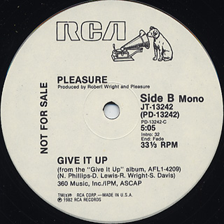 Pleasure / Give It Up back