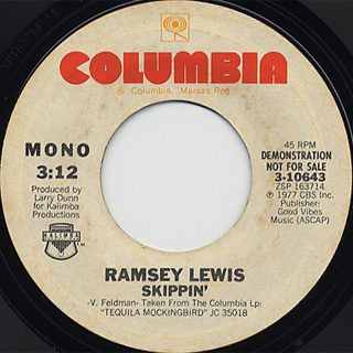 Ramsey Lewis / Skippin' back