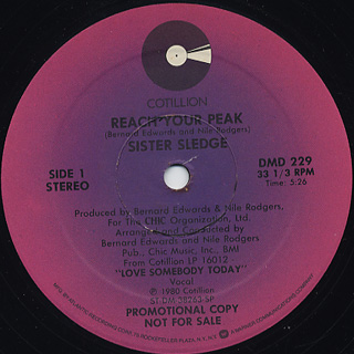 Sister Sledge / Reach Your Peak