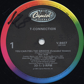 T-Connection / You Can Feel The Groove c/w Love Odyssey