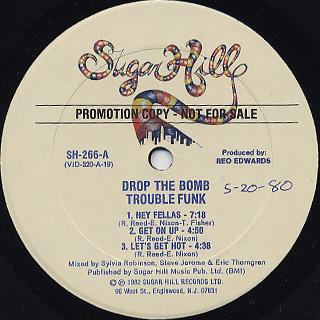 Trouble Funk / Drop The Bomb