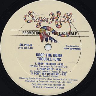 Trouble Funk / Drop The Bomb back