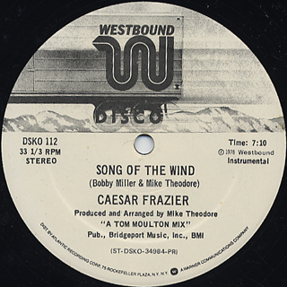 Caesar Frazier / Child Of The Wind c/w Song Of The Wind back