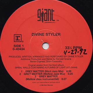 Divine Styler / Grey Matter
