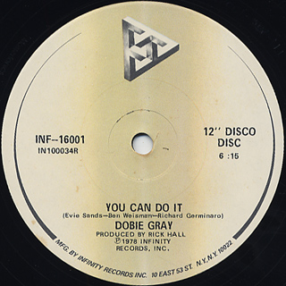 Dobie Gray / You Can Do It c/w Thank You For Tonight