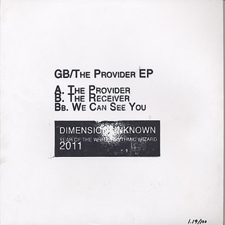 GB / The Provider EP back