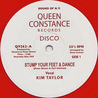 Kim Taylor / Stump Your Feet & Dance c/w African Rock