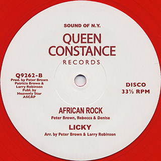 Kim Taylor / Stump Your Feet & Dance c/w African Rock back