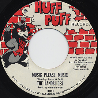 Landslides / We Don't Need No Music c/w Music Please Music back