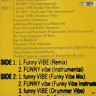 Living Colour / Funny Vibe back