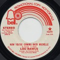 Lou Rawls / Now You're Coming Back Michelle c/w (Mono)