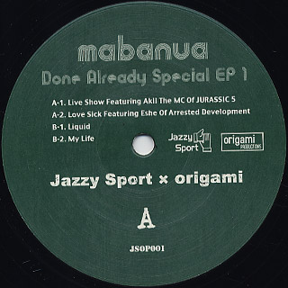 Mabanua / Done Already Specail EP 1