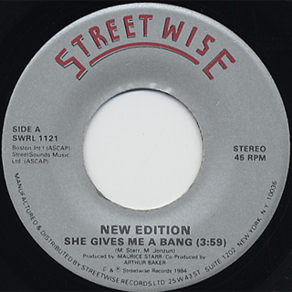 New Edition / She Give Me A Bang