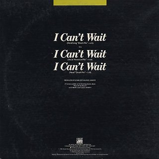 Nu Shooz / I Can't Wait back