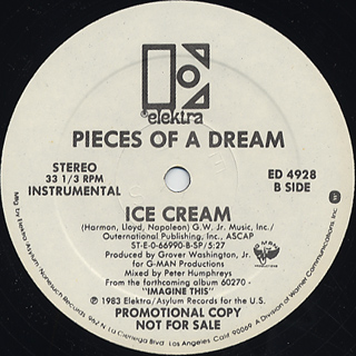 Pieces Of A Dream / Ice Cream back