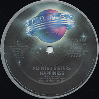 Pointer Sisters / Happiness