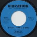 Shirley / Shame, Shame, Shame c/w (Instrumental)