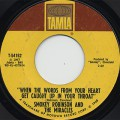 Smokey Robinson And Miracles / When The Words~ c/w If You Can Wait