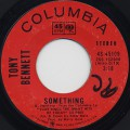 Tony Bennett / Something c/w Eleanor Rigby