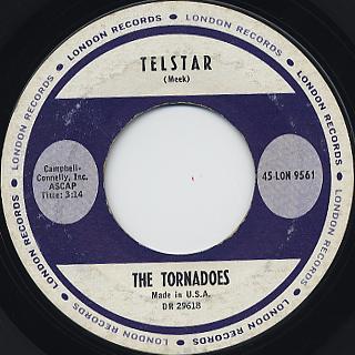 Tornadoes / Telstarr c/w Jungle Feve