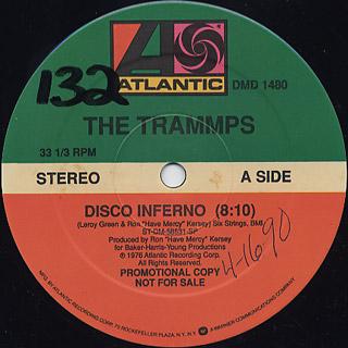 Trammps Disco Inferno C W Chic Mega Chic 12inch