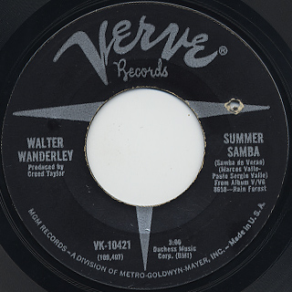 Walter Wanderley / Summer Samba c/w Call Me