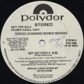 Gregg Diamond Bionic Boogie / Hot Butterfly (Special Disco Re-mix)