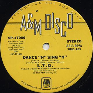 L.T.D. / Dance 'N' Sing 'N'