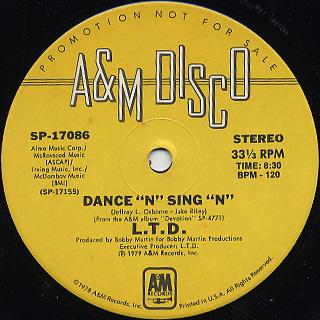 L.T.D. / Dance 'N' Sing 'N' back