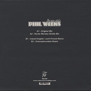 Phil Weeks / Be My Side back