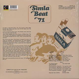 V.A / Simla Beat 71 back