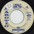 Ambassadors / I Really Love You c/w I Can't Believe You Love Me