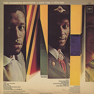 Chambers Brothers / A New Time - A New Day back