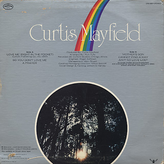 Curtis Mayfield / Got To Find A Way back
