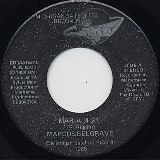 Marcus Belgrave / Maria