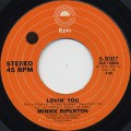 Minnie Riperton / Lovin' You c/w The Edge Of A Dream