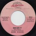Monk Higgins / Who-Dun-It?
