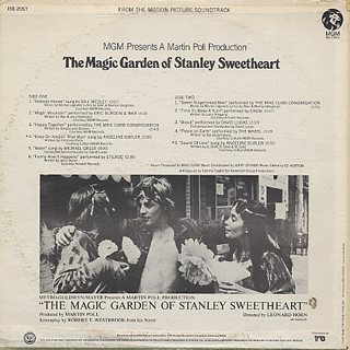 O.S.T. / The Magic Garden Of Stanley Sweetheart back