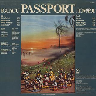 Passport / Iguacu back
