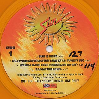 Sun / 8 Slammin' '70s Funk Trax back
