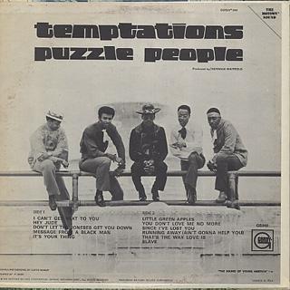Temptations / Puzzle People back