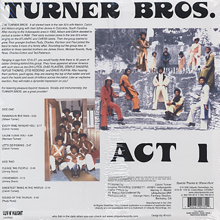 Turner Bros. / Act 1 back